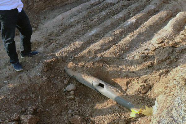حفاری خودسرانه موجب انفجار لوله گاز در روستای «صحنه» آق قلا شد