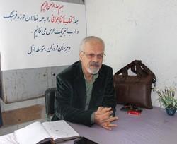 جشن امضا با حضور عباس جهانگیریان در شیراز