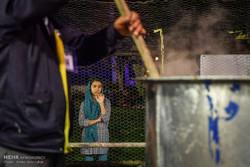 طبخ بزرگترین آش نذری جهان در شیراز