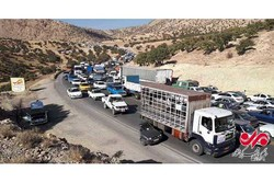 پانورامای ویژه ترافیک امدادرسانی به سمت سرپلذهاب