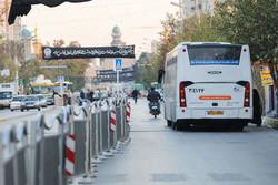 سرویسدهی اتوبوسرانی به زائران پیاده امام رضا(ع)