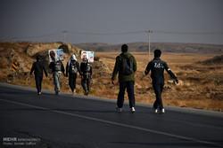 ۷ کاروان پیاده از بجستان عازم مشهد شدند