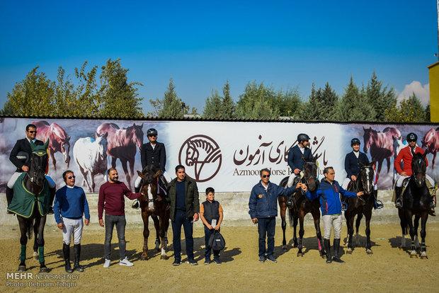 Show Jumping Premier League underway in Tehran