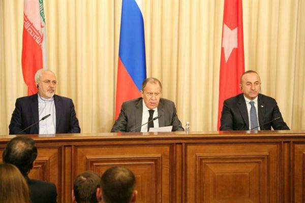 Türkiye-Rusya-İran Dışişleri Bakanları toplantısı başladı