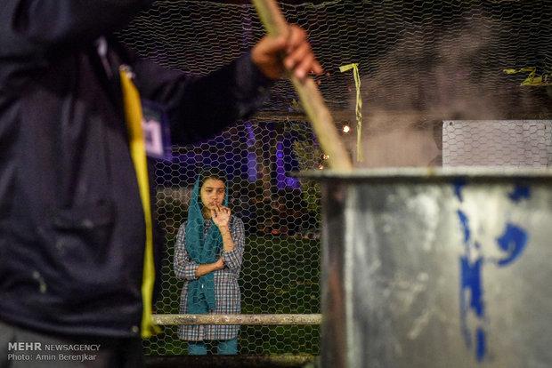 طبخ 84 هزارکیلوگرم آش نذری در شیراز