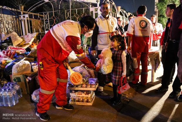 جمع آوری کمک های مردمی در استان خوزستان برای مناطق زلزله زده