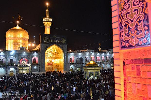 عزاداری شب رحلت حضرت رسول اكرم(ص) و امام حسن مجتبي(ع)  در مشهد