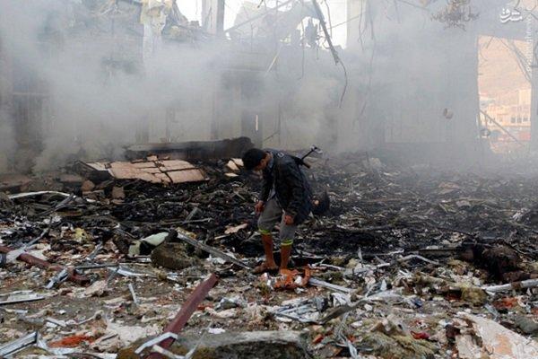 حمله جنگنده های ائتلاف سعودی در غرب یمن ۲۷ کشته و زخمی برجا گذاشت