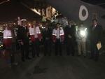 کمک های پاکستان به زلزله زدگان کرمانشاه تحویل تیم هلال احمر شد