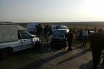 تصادف خودرو در گلستان ۲ کشته برجای گذاشت