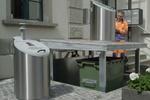 سیستم جمع آوری زیر زمینی زباله را ببینید