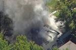 آتش سوزی مهیب در ساختمانی در ایالت کالیفرنیا با  ۴ کشته و زخمی