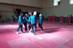 دیدار دوستانه تیمهای ملی کبدی زنان ایران و کره جنوبی