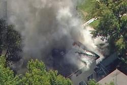 آتش سوزی در سن خوزه کالیفرنیا