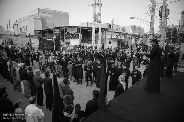 Iranian Arabs mourn demise anniv. Of Prophet Muhammad