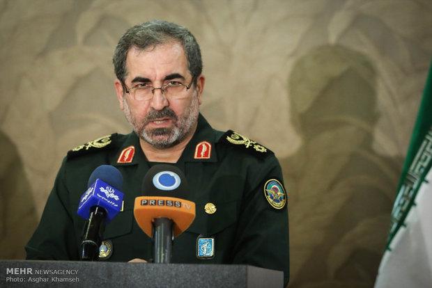 العميد نظامي: اللجنة العسكرية المشتركة الايرانية العمانية دليل على السلام العالمي
