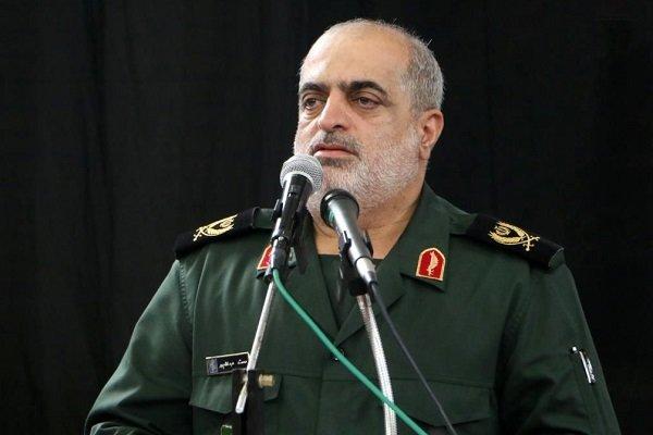 فرمانده سپاه قدس گیلان آغاز سال جدید را تبریک گفت