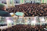 عزاداری روز شهادت امام رضا(ع) در حرم عبدالعظیم حسنی(ع) برگزار شد