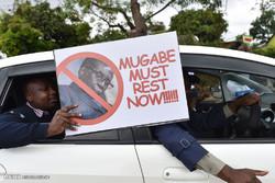 حمایت مردم زیمبابوه از برکناری موگابه