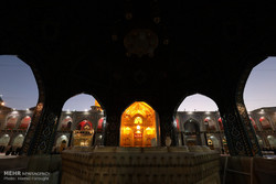 مراسم خطبه خوانی شب شهادت امام رضا (ع)