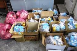 توزیع ۴۳۵۰ سبد غذایی حمایتی بنیاد علوی در جنوب سیستان و بلوچستان