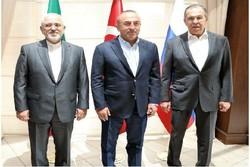 İran, Türkiye ve Rusya Dışişleri Bakanları Ankara'da buluşacak