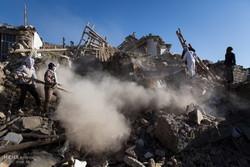 مناطق زلزله زده سر پل ذهاب