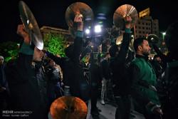 عزاداری شب شهادت امام رضا (ع) در مشهد