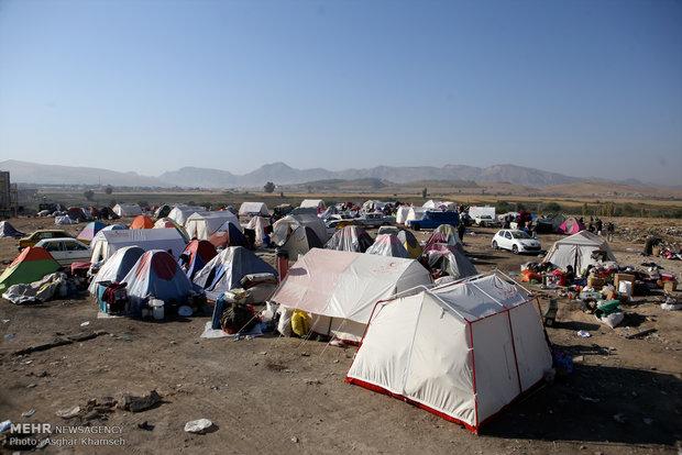 زلزله کرمانشاه ، روز ششم