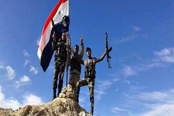 تیرۆریستەکانی داعش لە باشووری سووریا خۆیان ڕادەست کرد
