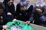 پیکر مطهر شهید مدافع حرم روحالله رحیمی در قزوین تشییع می شود