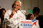 «پینه را» رئیس جمهور جدید شیلی شد