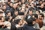 رہبر معظم انقلاب اسلامی کا زلزلہ سے متاثرہ گاؤں کوئیک کا دورہ
