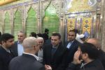 ادای احترام استاندار دمشق به مقام شامخ امام خمینی(ره)