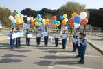 جشن بادکنکهای رنگی در جنوب تهران برگزار شد