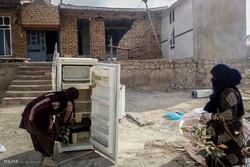بازدید پرویز فتاح رئیس کمیته امداد امام خمینی (ره) از مناطق زلزله زده کرمانشاه