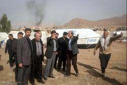 بازدید رئیس کمیته امداد از مناطق زلزله زده غرب کشور