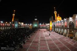 مراسم شام غریبان امام رضا (ع) در مشهد 