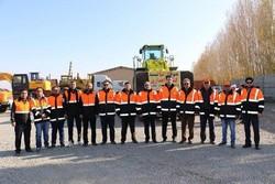 ۴۰ دستگاه ماشینآلات سنگین راهداری به مناطق زلزلهزده اعزام شد