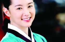 "South Korean actress Lee Young-ae in scene from ""Dae Jang Geum"""
