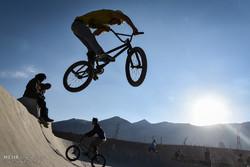 مسابقات الدراجات الهوائية الـ BMX في ايران / صور