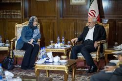FM Zarif, EU's Schmid meet in Tehran