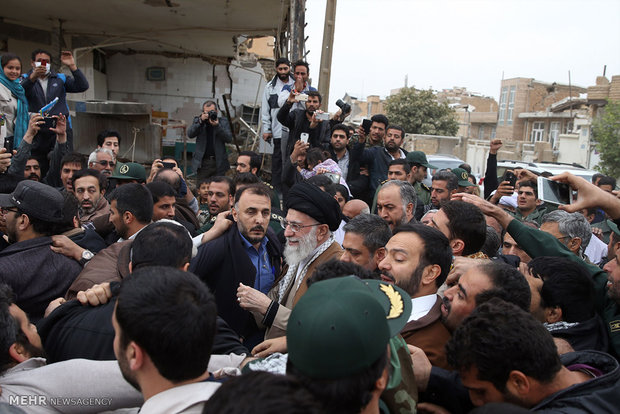 Leader among quake-hit people of Sarpol-e Zahab