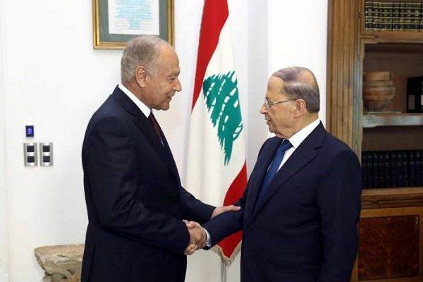 «احمد ابوالغیط» در بیروت با «میشل عون» دیدار کرد