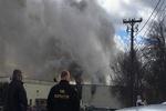 انفجار در یک کارخانه در نیویورک با حداقل ۷۵ زخمی