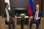 دیدار اسد با پوتین/ تاکید بر لزوم آغاز روند سیاسی در سوریه