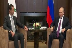 الكرملين: بوتين التقى مع الرئيس السوري خلال زيارة عمل إلى روسيا