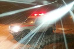 بارش برف در چهارمحال و بختیاری - کراپشده