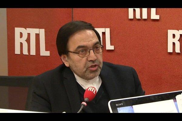 سفير ايران في باريس: ايران تعارض اي شكل من اشكال التدخل الخارجي