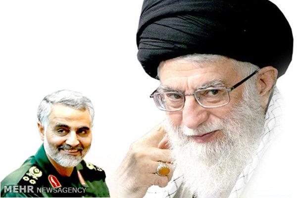 سردار سلیمانی پایان سیطره داعش را به ولی امر مسلمین تبریک گفت|2796255